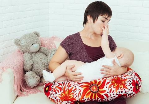 подушка для кормления грудного ребенка