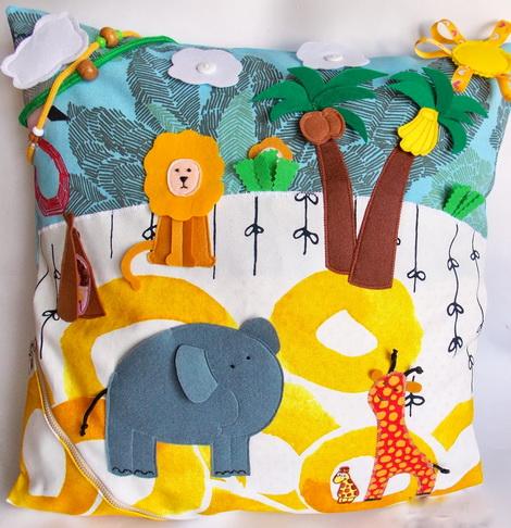 развивающие подушки игрушки своими руками