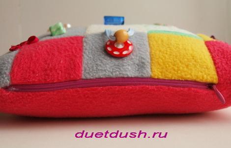сшить подушку игрушку своими руками