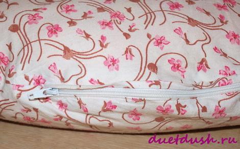 сшить подушку для кормления