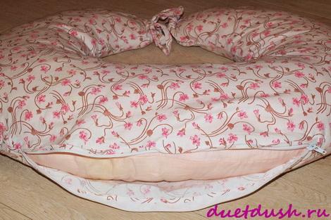 выкройка подушки