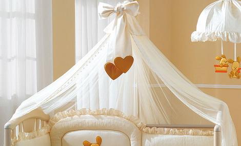 балдахины на кроватку для новорожденных