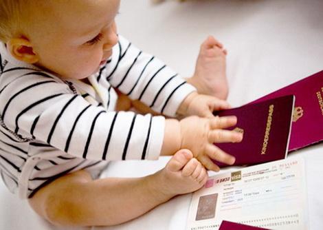 какие документы нужны для новорожденного ребенка