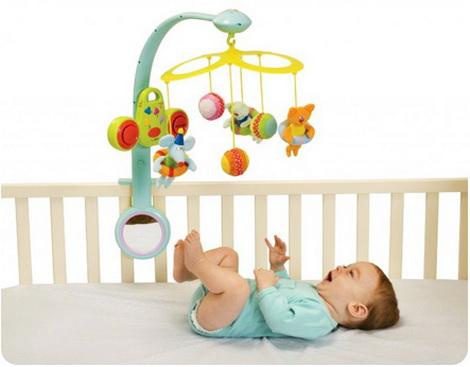 мобили в кроватку для новорожденных