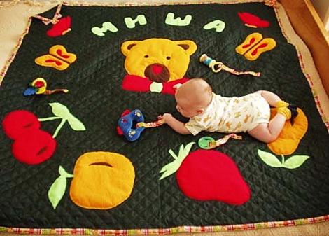 развивающий коврик с дугами своими руками