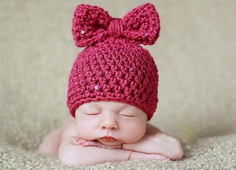 размер шапочек для новорожденных