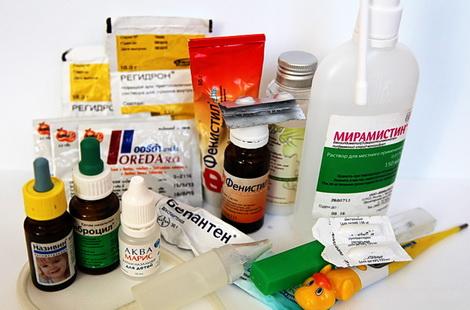детская аптечка для новорожденного список лекарств