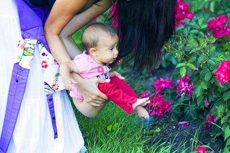 Высаживание новорожденного