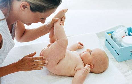 гигиеническая обработка новорожденного