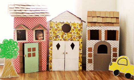 идеи детских домиков