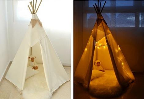 сделать домик для ребенка