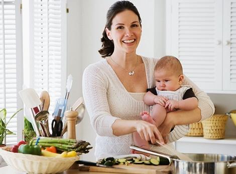 как готовить с ребенком