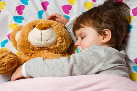 ребенок засыпал быстрее