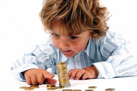 давать карманные деньги ребенку