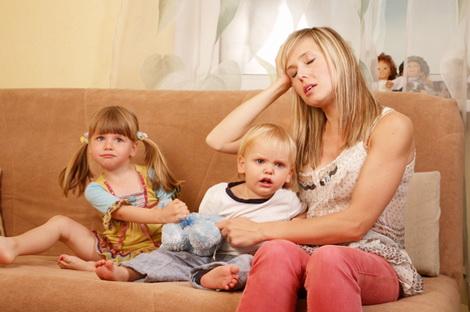дети вызывают раздражение