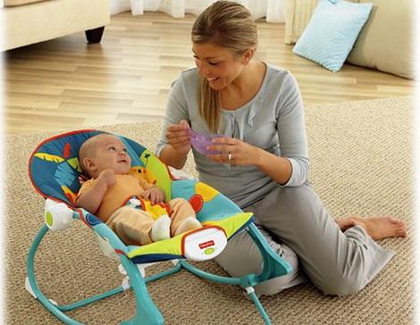 Как выбрать шезлонг для новорожденного